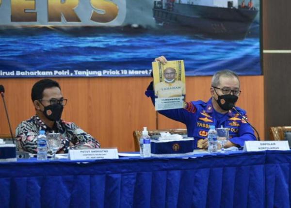 Mantap, Pertamina dan Polairud Polri Gagalkan Pencurian BBM di Tuban