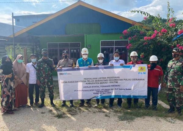 Mantap, PLN Resmikan 20 Listrik Desa di Kalimantan