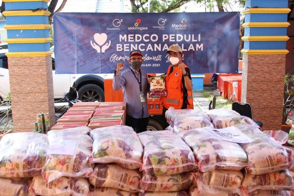 Medco Energi Salurkan Bantuan Untuk Korban Bencana Alam