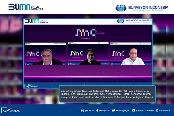 Membangun Budaya Digital, Surveyor Indonesia Luncurkan SyNC