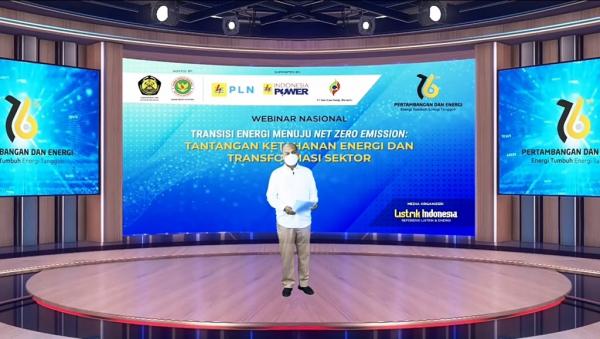 Memperingati Hari Pertambangan dan Energi Nasional ke-76, DEN Sukses Menggelar Serangkaian Webinar Nasional