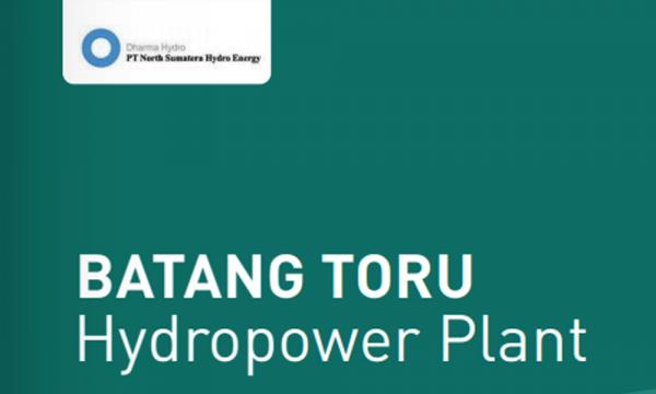 Mengenal North Sumatera Hydro Energy di PLTA Batang Toru