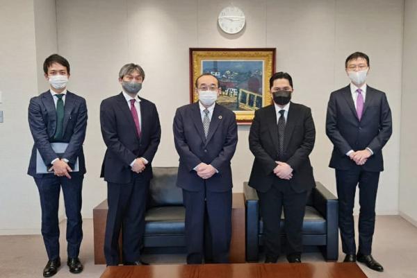 Menteri BUMN: Investor Jepang Berniat Untuk Bekerja Sama dengan BUMN