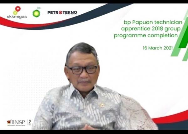 Menteri ESDM: Di 2029, 85 Persen Operator Tangguh LNG Asal Papua