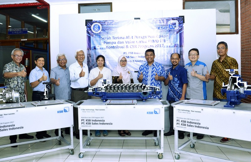 Modul Pompa dan Valve untuk Fakultas Teknik Mesin dan Dirgantara ITB
