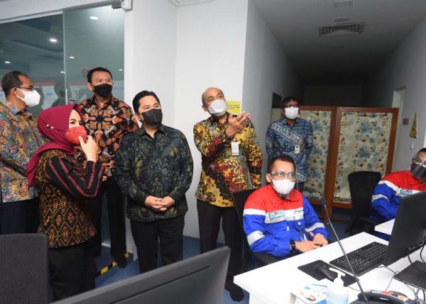 Pascarestrukturisasi Pertamina Pastikan Proses Bisnis Subholding Terpantau Melalui Integrated Command Center