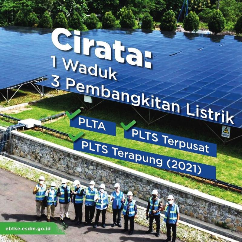 Pembangkit EBT Terbesar Ditengokin Para Stakeholder Energi