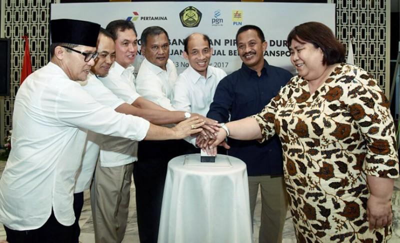 Pemerintah Percepat Pembangunan Proyek Gas Bumi Nasional