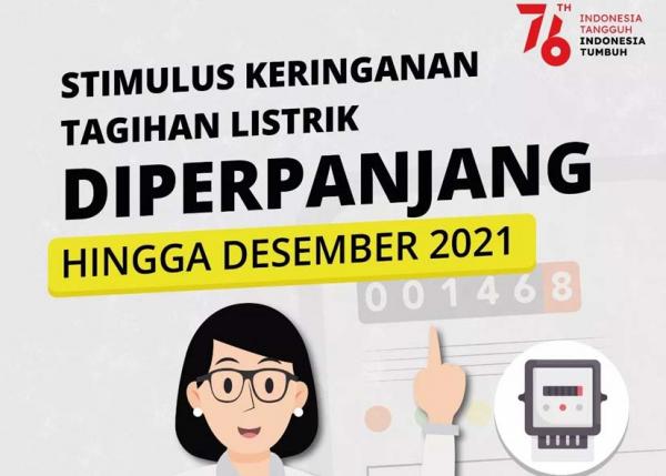 Pemerintah Perpanjang Stimulus Program Ketenagalistrikan Hingga Desember 2021