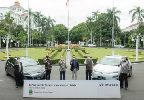Pemprov Jabar Bakal Pakai Mobil Listrik Hyundai untuk Kendaraan Dinas