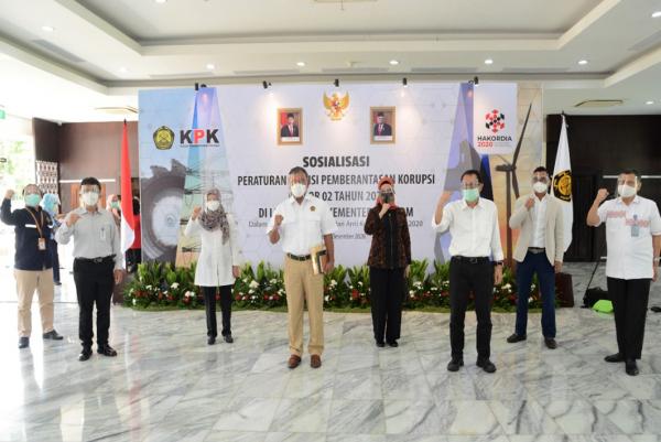 Pencegahan Korupsi, Kementerian ESDM Berkoordinasi dengan KPK
