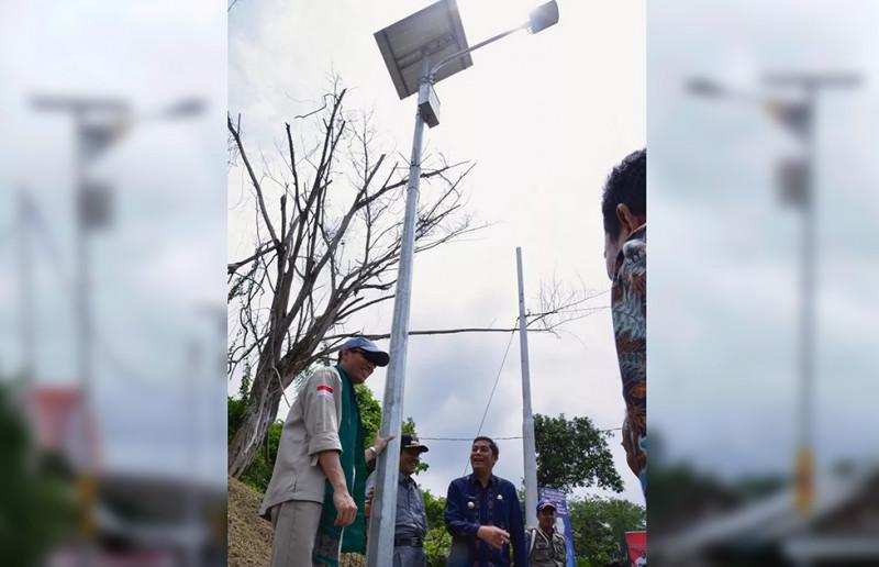 Penerangan Jalan Tenaga Surya, Menghemat Miliaran Rupiah APBD Kota Sawahlunto