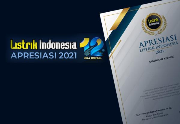 Penghargaan Apresiasi Untuk Prestasi, Komitmen dan Apresiasi MLI Bagi Sektor Kelistrikan dan Energi