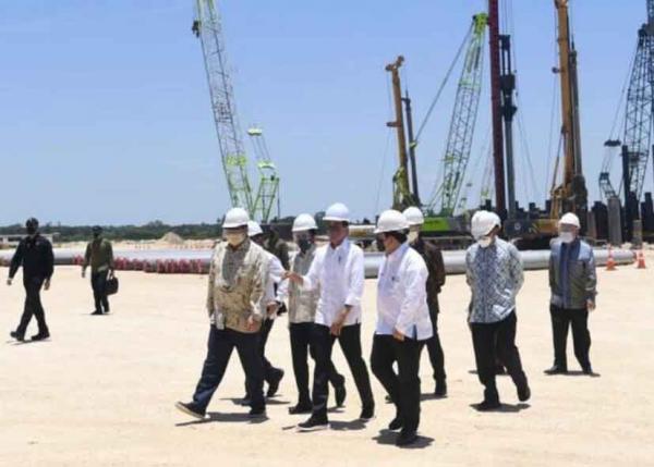 Perkuat Hilirisasi Industri, Presiden RI Lakukan Groundbreaking Smelter Freeport Indonesia