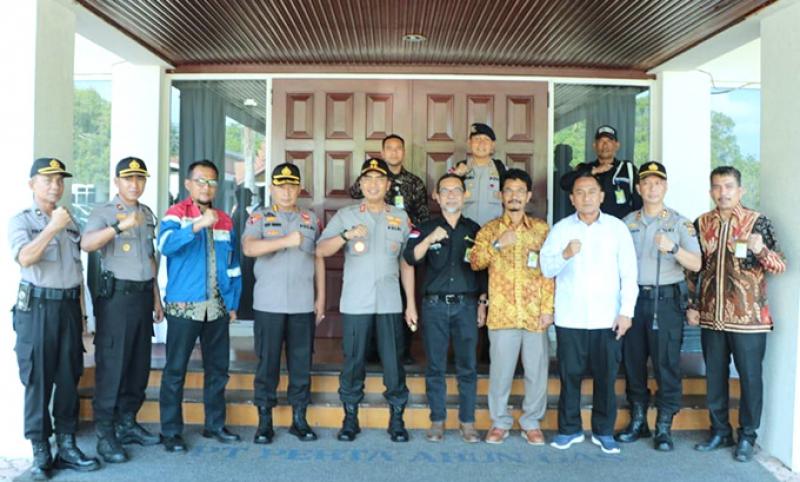 Perta Arun Gas Perkuat Sinergi dengan Polda Aceh
