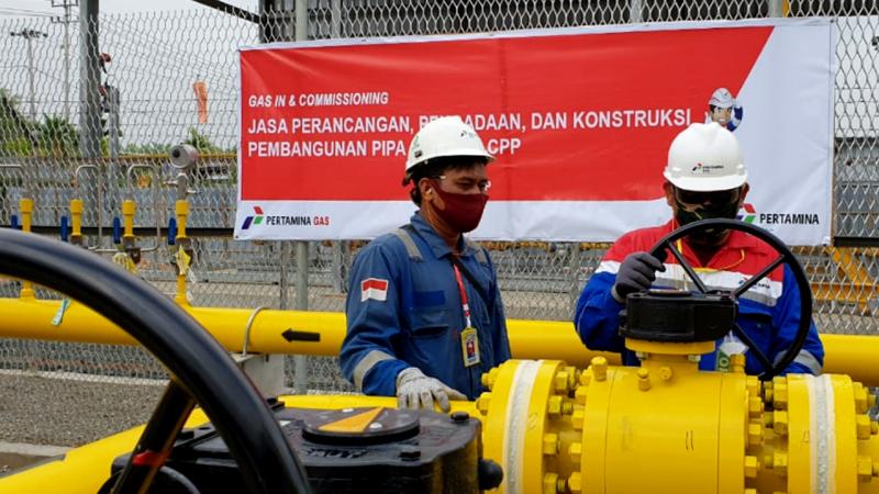 Pertagas Resmi Salurkan Gas ke Pembangkit Listrik di Siak