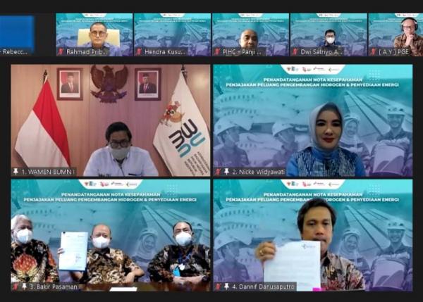 Pertamina NRE dan Pupuk Indonesia Bidik Pengembangan Hidrogen