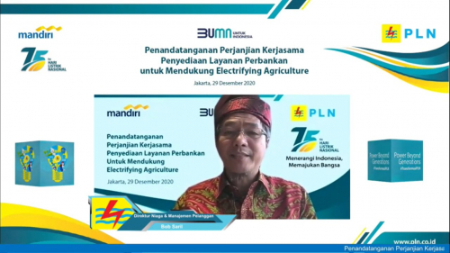 PLN-Bank Mandiri Sinergi Dorong Electrifying Agriculture