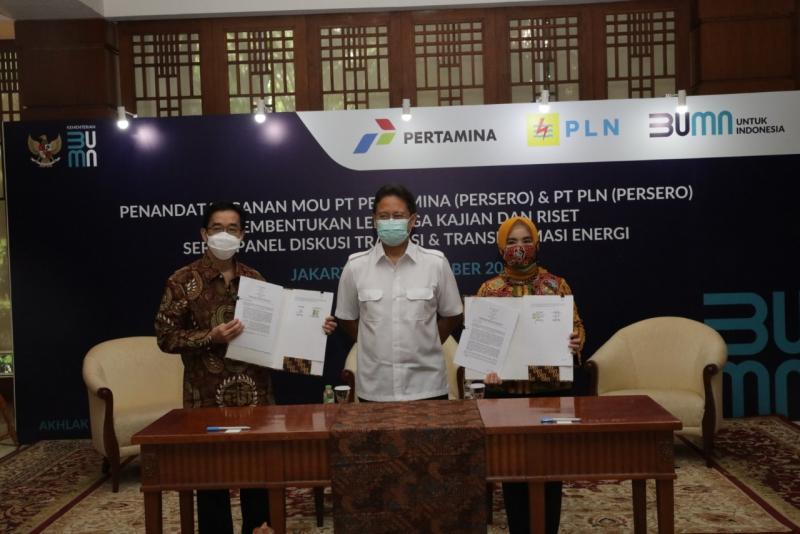 PLN-Pertamina Bangun Pusat Riset Energy and Electricity Institute (IEEI)