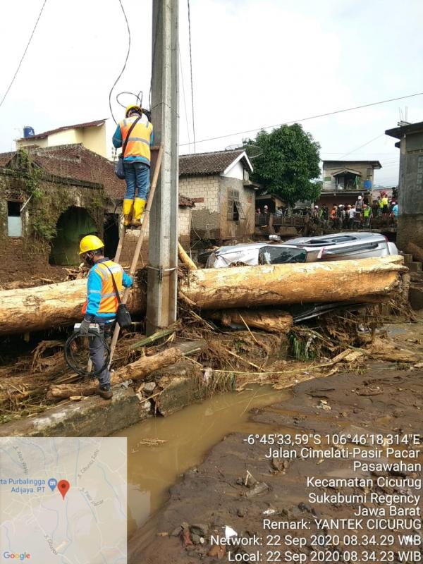 PLN Gerak Cepat Atasi Banjir di Sukabumi