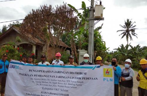 PLN Hadirkan Listrik untuk 6 Desa di Kabupaten Lahat dan OKU Selatan