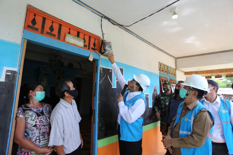 PLN Kalbar Mampu Capai 100 Persen Desa Berlistrik di Mempawah
