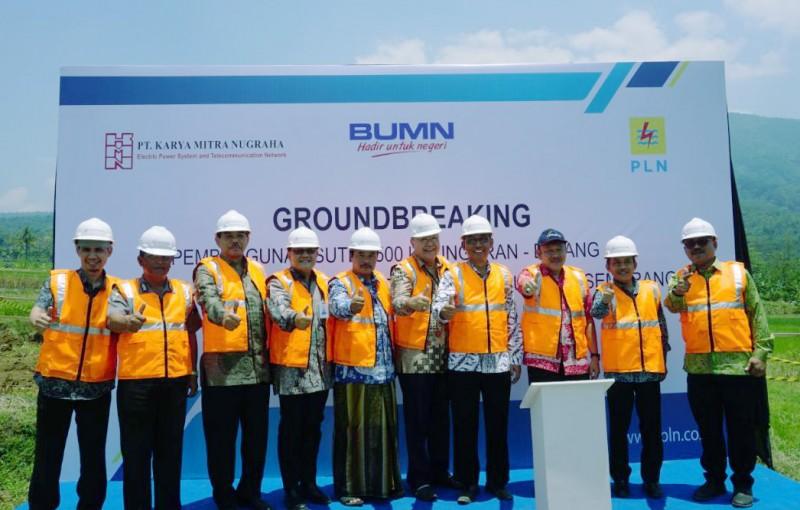 PLN Mulai Bangun Transmisi 500 Kilo Volt Jalur Utara Jawa
