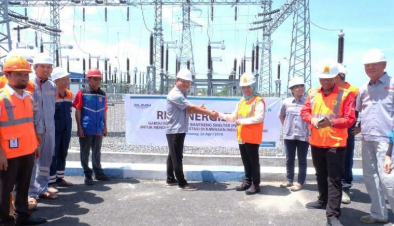 PLN Operasikan Gardu Induk Khusus Smelter di Bantaeng
