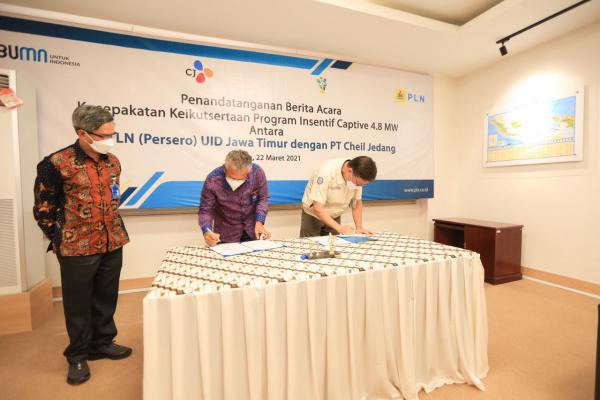 PLN Pasok  Kebutuhan Listrik PT Cheil Jedang Indonesia