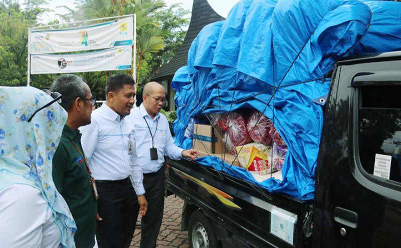 PLN Peduli Bantu Korban Banjir Solok Selatan