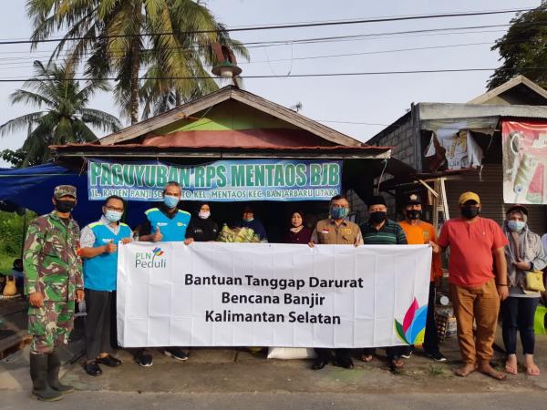 PLN Salurkan Dana Bantuan untuk  Korban Gempa di Sulbar