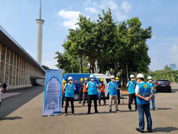 PLN Siaga Pasokan Listrik Idul Fitri 1442 H di Jakarta