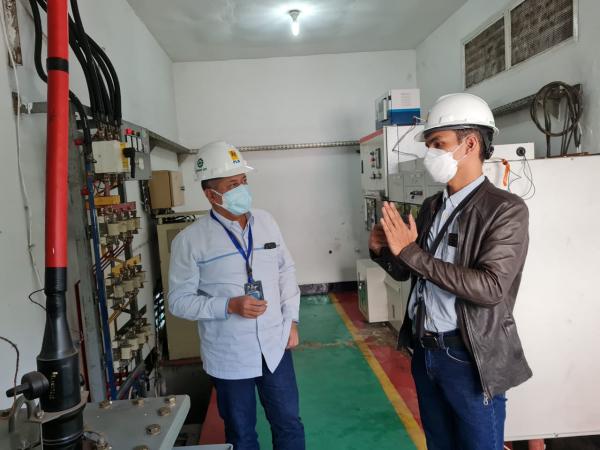 PLN Siapkan Listrik dan UPS untuk Rumah Sakit Darurat Asrama Haji
