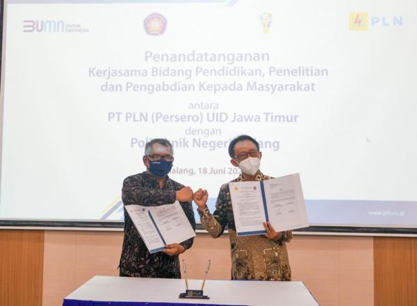 PLN UID Jawa Timur dan Polinema Sinergi Pengembangan Energi Baru Terbarukan
