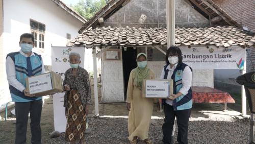 PLN VCRR 2020: 600 Keluarga Pra Sejahtera Peroleh Penyambungan Listrik Gratis di Jatim