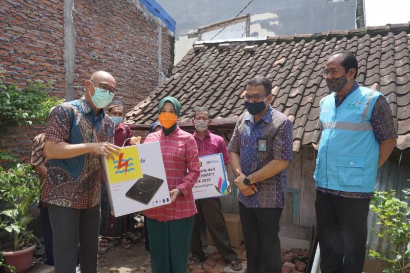 PLN VCRR, Sambung Listrik Gratis Masyarakat Tidak Mampu di Jawa Tengah
