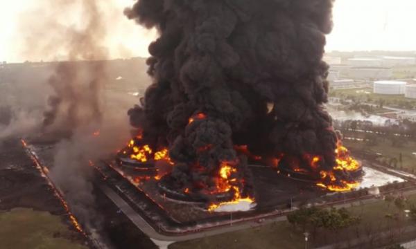 Polisi Temukan Tindak Pidana Kebakaran Kilang Balongan