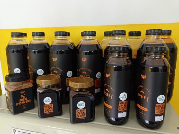 Produk Madu Mitra Binaan PLN Ekspor ke Singapura