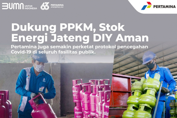 PSBB Jawa Bali, Pertamina Jateng DIY Tetap Amankan Stok BBM LPG