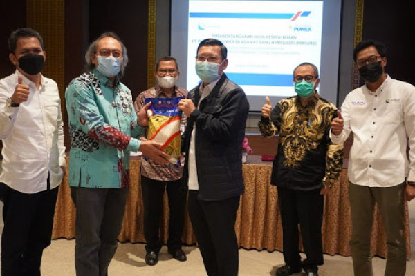 Rajawali Nusantara Indonesia Siap Dukung Indonesia Power Kembangkan Energi Terbarukan Dengan Memanfaatkan Biomassa