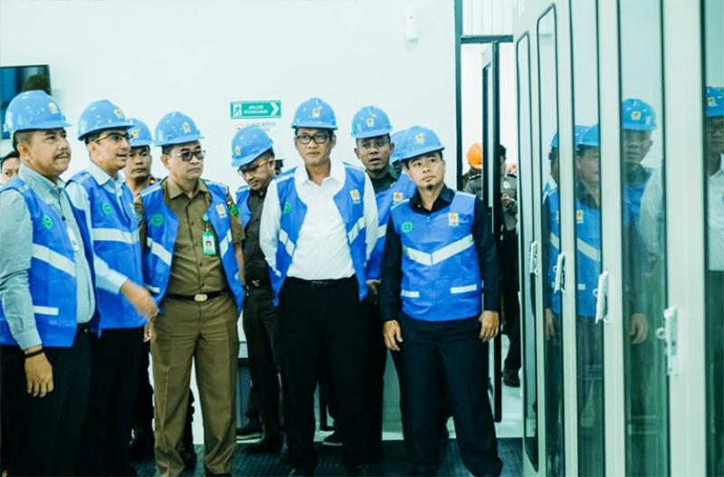 Rampungkan Gardu Induk TES, PLN Tingkatkan Layanan Kelistrikan