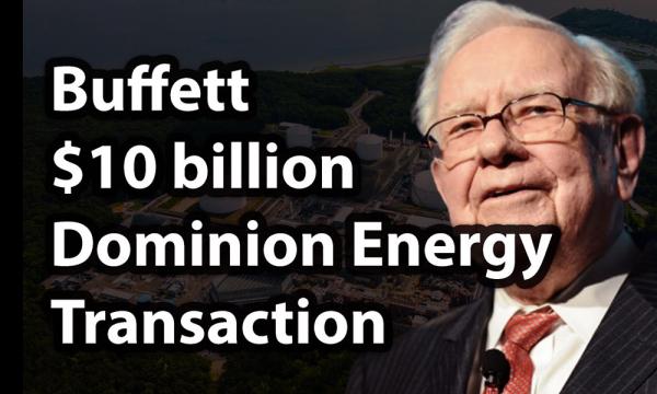 Rekor Tertinggi Harta Buffett setelah Beli Dominion Energy