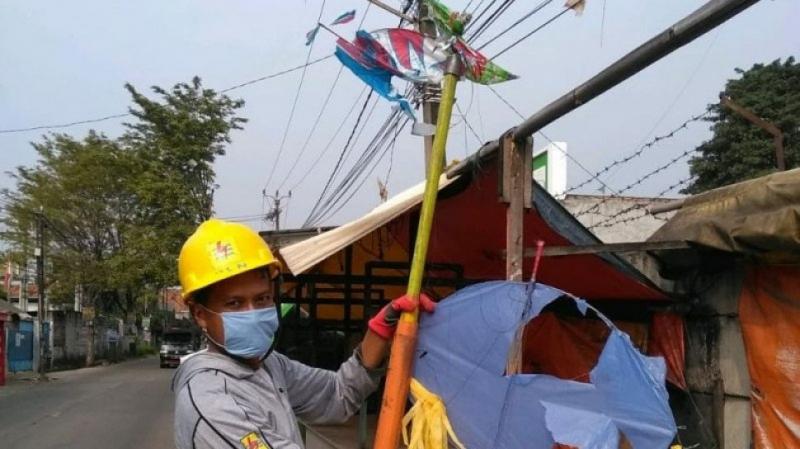 Rugikan Hingga Miliaran, PLN Bentuk Tim Sapu Bersih Layangan Berkawat