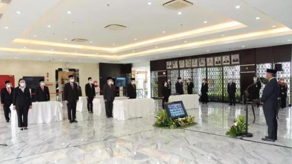 Sah, Pejabat Fungsional Hasil Penyetaraan Kementerian ESDM Dilantik
