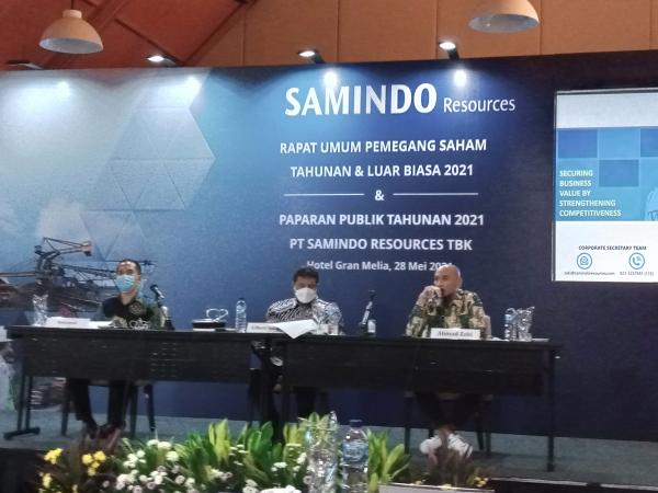 Samindo Resources Targetkan Kenaikan Overbuden Removal Tahun Ini