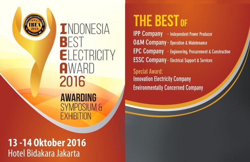 Segera Daftarkan Perusahaan Anda di IBEA Award 2016