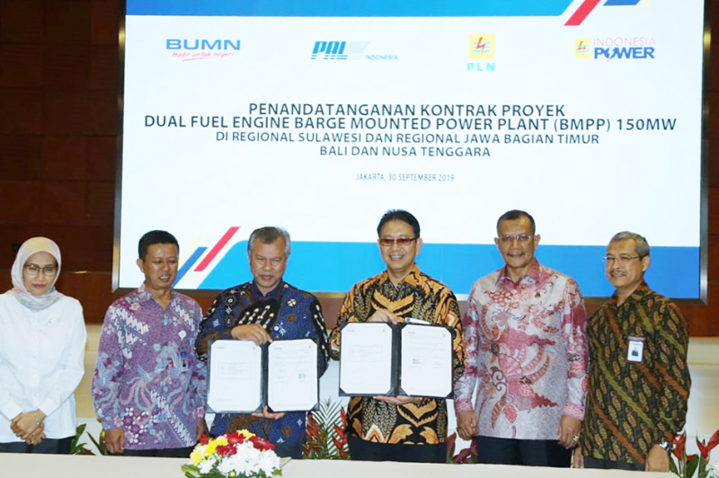 Siapkan Pembangkit Terapung,Indonesia Power Bekerjasama Dengan PT PAL