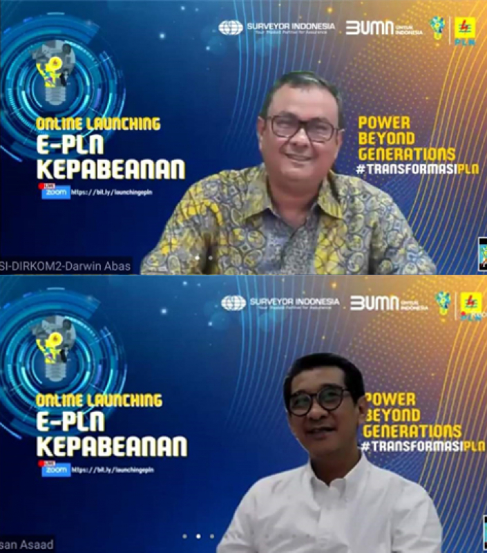 Sinergi PLN dan Surveyor Indonesia Ciptakan Aplikasi e-PLN Kepabeanan