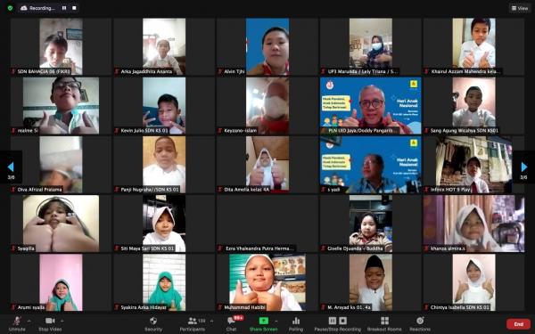 Siswa Antusias Ikuti Pelajaran Dunia Kelistrikan dari PLN UID Jakarta