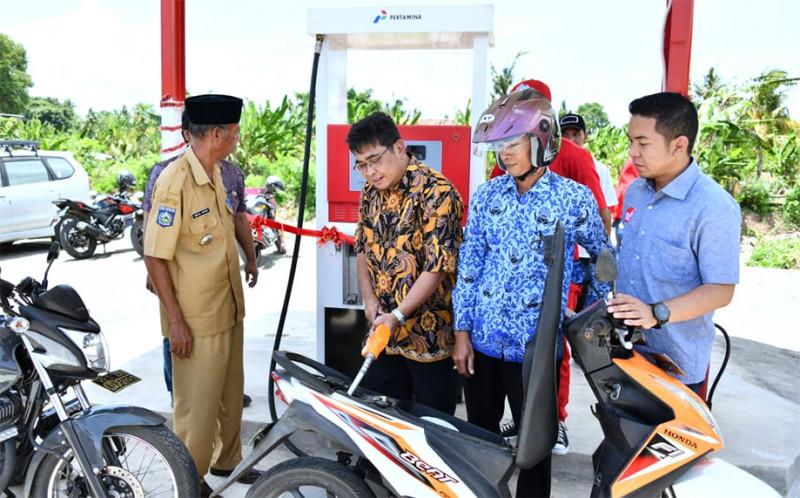 SPBU BBM Satu Harga ke-109 Diresmikan di Lunyuk, Sumbawa